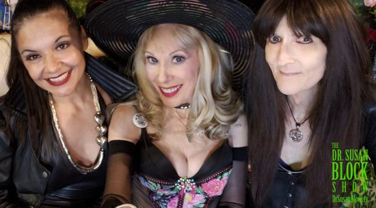 Selfie with Lady Remedy Ann and Mistress Cyan.