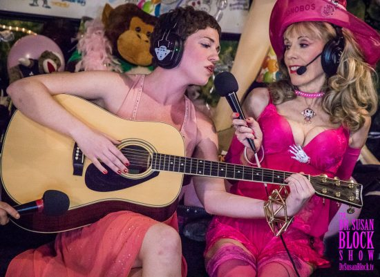 "Jezebel Sweet sings ""Life's a Trip"" live from Bonoboville on DrSuzy.Tv. Photo: Jux Lii"