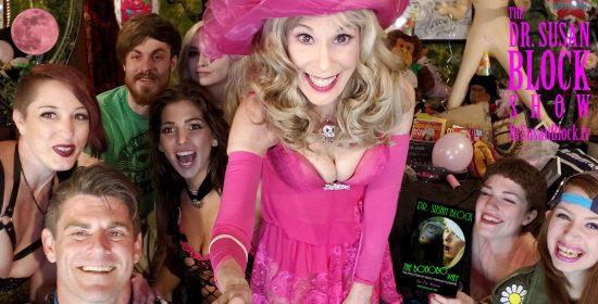 Pre-Show Pink Moon Selfie