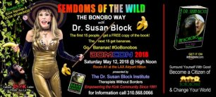 Dr. Susan Block's Updated BONOBO WAY bound for DOMCON LA 2018