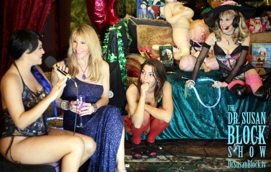 Alix Lovell's first timeon DrSuzy.Tv. Photo: Greg Gorman