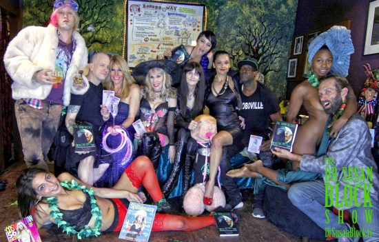 DomCon Bound: Phoenix Dawn, Zivu, Jux Lii, Goddess Phoenix, Dr. Suzy, Mistress Cyan, Alix Lovell, Lady Remedy Ann, Ikkor, Daniele Watts, Chef Be*Live. Photo: Abe Bonobo