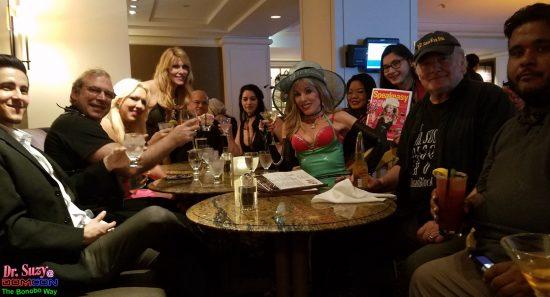 Dinner with Goddess Phoenix's Crew.
