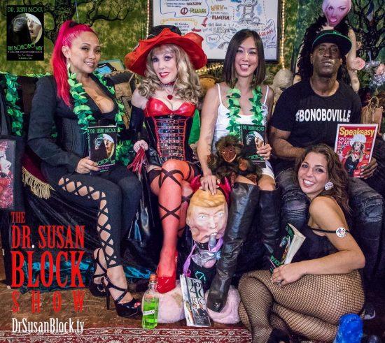 Lola Bastinado, Dr. Suzy, tRUMP, Lexi Mansfield, Ikkor the Wolf, Phoenix Dawn. Photo: Jux Lii