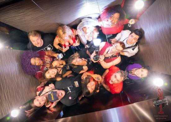 DomCon LA 2018 Special VIP Elevator. Photo: Slaveboi Julia