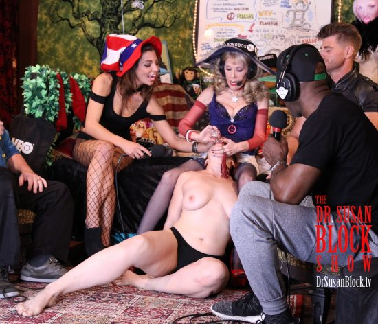 Waterboarding Mistress Kara in Her First Bonoboville Communion (as Recipient). Photo: Slick Rick