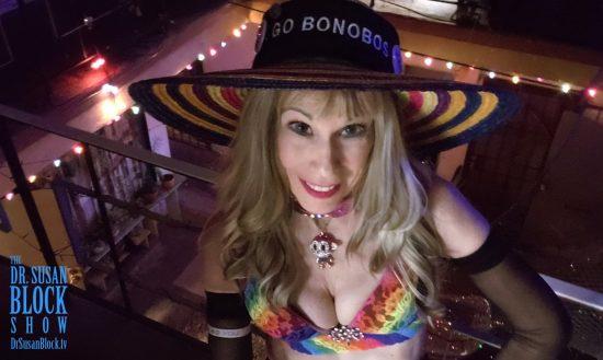 Born Again in Bonoboville. Photo: Selfie