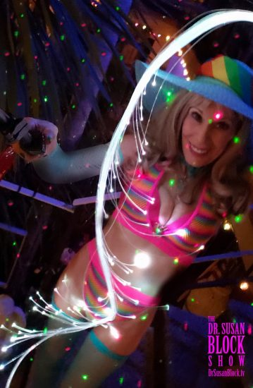 Neon Pride Selfie