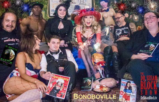 Fire in Bonoboville! Happy 4th of July, Brothers & Sisters, Lovers & Sinners! Photo: Jux Lii
