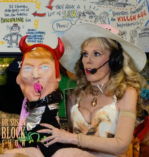 We keep the Hypocrite-in-Chief, the John who signed SESTA , under gag order with a penis pacifier on DrSuzy.Tv. Photo: Capture It Photography