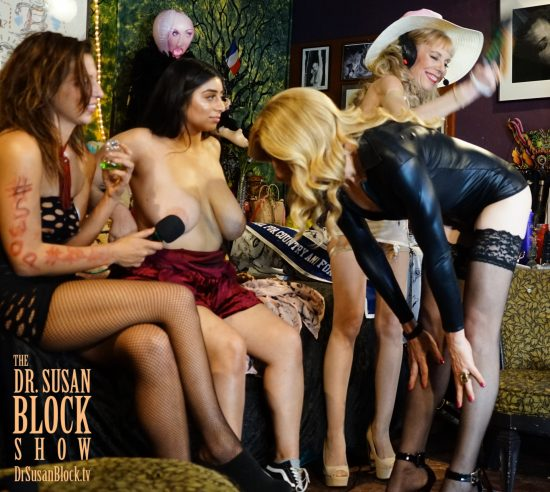 Kaci Tgirl gets a spanking. Photo: Capture It Photography