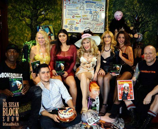 Ikkor, Abe, Anne,Violet, Dr. Suzy, Kacy Tgirl, Phoenix, JuxLii. Photo:: Capture It Photography
