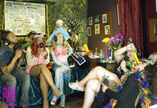 Phoenix's Oral Performance Art gets an audience. Photo: Capture It