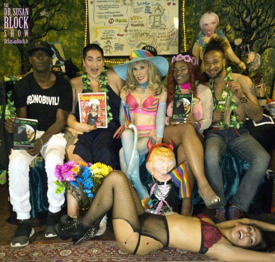 Ikkor, Mimosa, Dr. Suzy, Tahyira, Frankito, tRUMP & Phoenix. Photo: Capture It