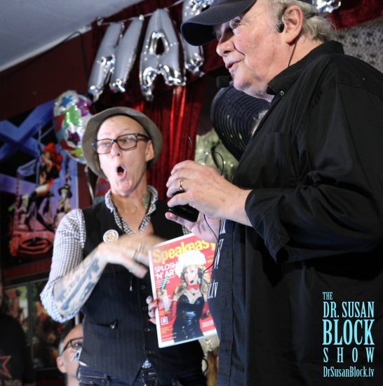 Clemmy & Capt'n Max launch the Speakeasy Journal. Photo: Slick Rick