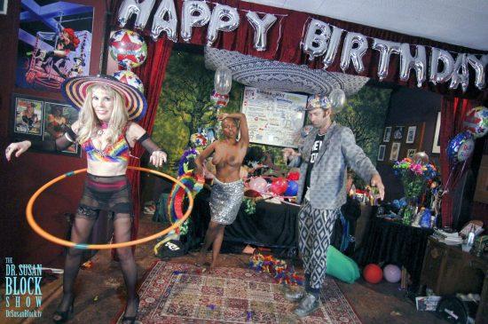 Watts Be*LiVE Birthday Circus. Photo: Abe Bonobo