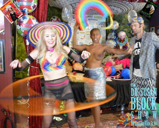 Speakeasy Birthday Commedia Erotica Traveling Circus. Photo: Hugo Flores