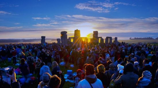 Summer Solstice 2018 Sunrise at Stonehenge