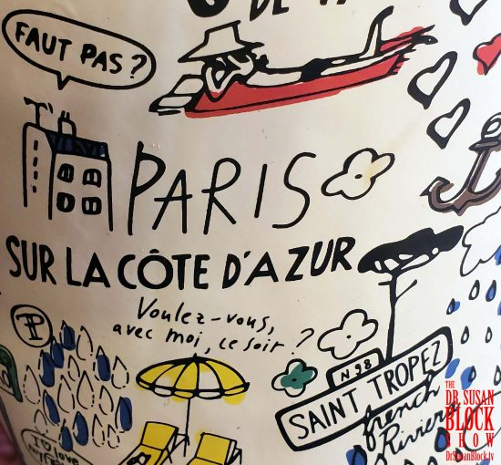 Detail from My French Rain Boot.