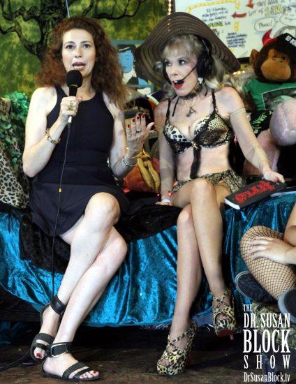 "Sexual Intuitive Susanna Brisk tells Bonoboville how to ""Enter the Fuck Zone."" Photo: Slick Rick"