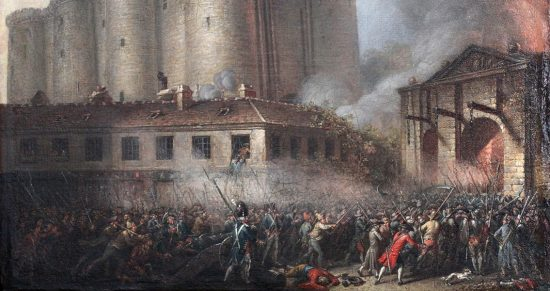 Storming of the Bastille. Artist Unknown