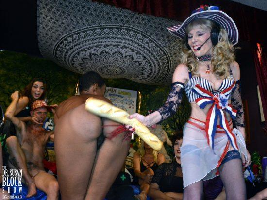Ooh la la, le joix de la fessée! Photo: Hugo Flores