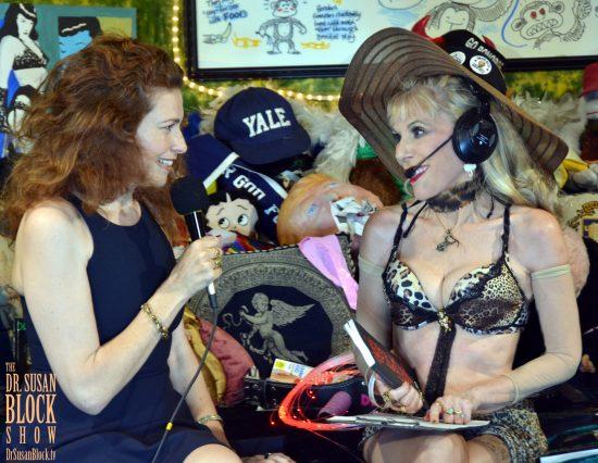 Welcoming Sexual Intuitive & Author Susanna Brisk to DrSuzy.Tv. Photo: Hugo Flores