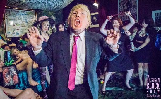 Hands Up tRUMP! D.A.D. is back on DrSuzy.Tv this Saturday! Photo: Jux Lii