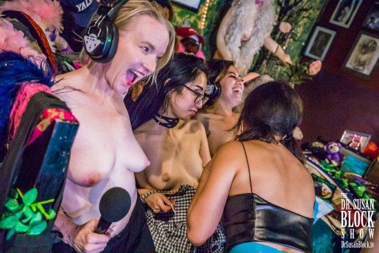 Sex is Sustainable Pleasure: Triple Bonoboville Communion on DrSuzy.Tv. Photo: Jux Lii