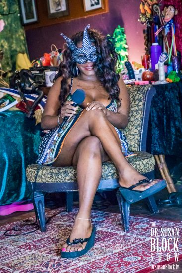 Dr. Susan Block Institute Sex Therapist Chanel. Photo: Jux Lii