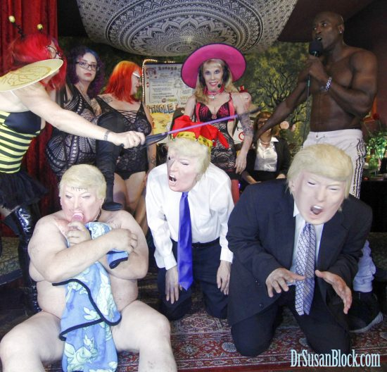 An INFESTATION of tRUMPS! Photo: Onyx
