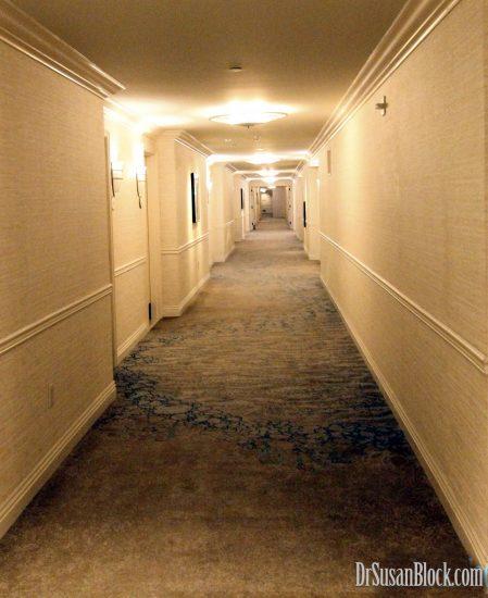 Endless Hallway to the Elevators. Photo: Abe Bonobo