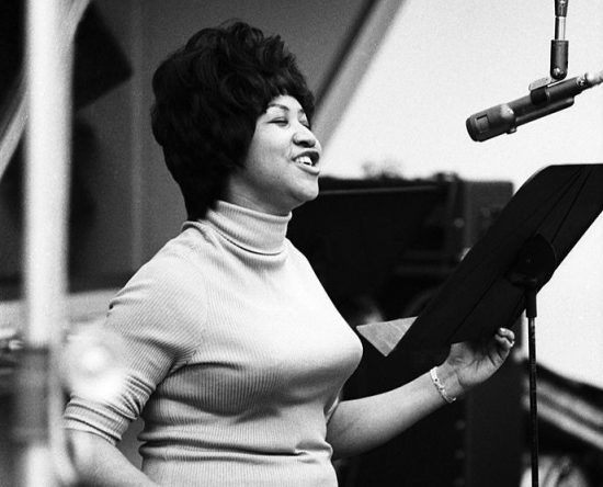 Young Aretha in a Bullet Bra