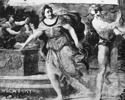Lupercalia Whipping by Annibale Carracci