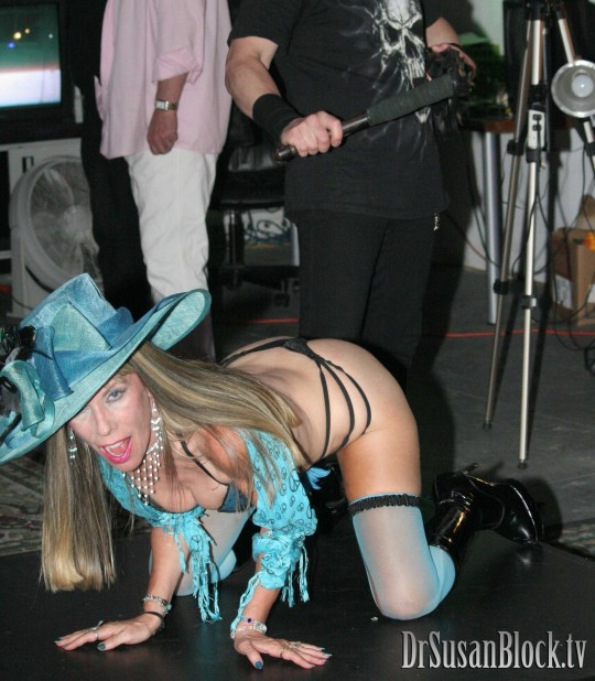 I like a good flogging as much as a massage at the spa