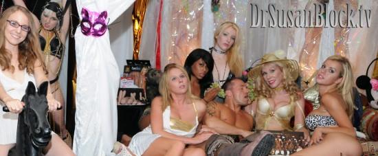 Kelsey, Tasia, Aria, Leilani, Eden, Marcus Spartascus, Dr. Suzy & Jessie. Photo: Irwin