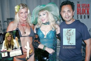 """""""ECO-SEX"""" Rocks DrSuzy.Tv with a Sustainable Show & another Organic, Orgasmic After-Party on the Bonoboville Kitchen Table!"""