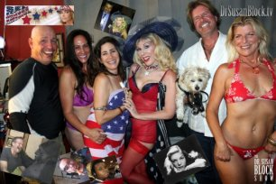 """Sex Across America"" on DrSuzy.Tv with Silky & Luc + Friends & Squirting Lovers"