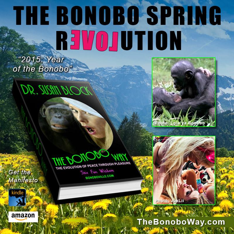The BONOBO SPRING REVOLUTION ❤