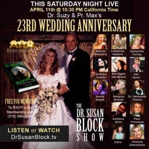 23rd Wedding Anniversary, Abby Martin & The Bonobo Way
