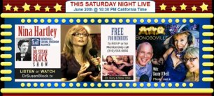 Summer Solstice with Nina Hartley, Book-Spanking Layla Sin & The Bonobo Summer of Love ♥