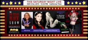 G-spots for Peace, Queefing Fun, Jessicas & Airs this Saturday & Help on Your Phone 24/7: Call 310-568-0066