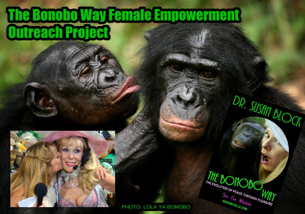 Malcolm Jones & the Women of the Bonobo Way Female Empowerment Outreach Project