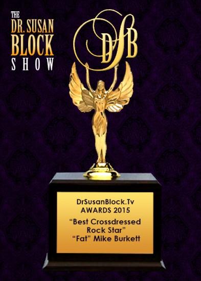 Best Crossdressed Rockstar - 'Fat' Mike Burkett