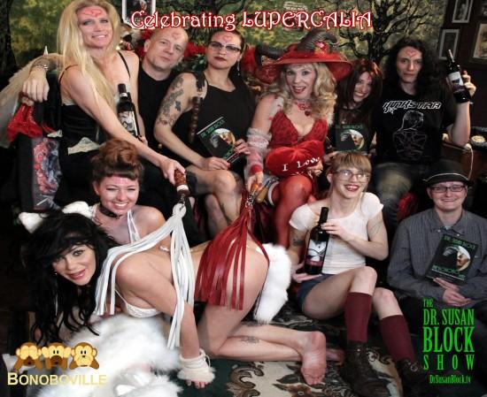 The Lupercalia 2016 Commedia Erotica Players. Photo: Unscene Abe