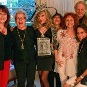 With Jorjana, Betty, Dr. Stella Resnick, Alan, Leslie Sank