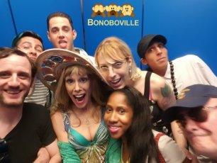 ErotiqueTV on DrSuzy.TV this Saturday, Bonobo Way Surfs Laguna Airwaves & Group Phone Sex Therapy Anytime!