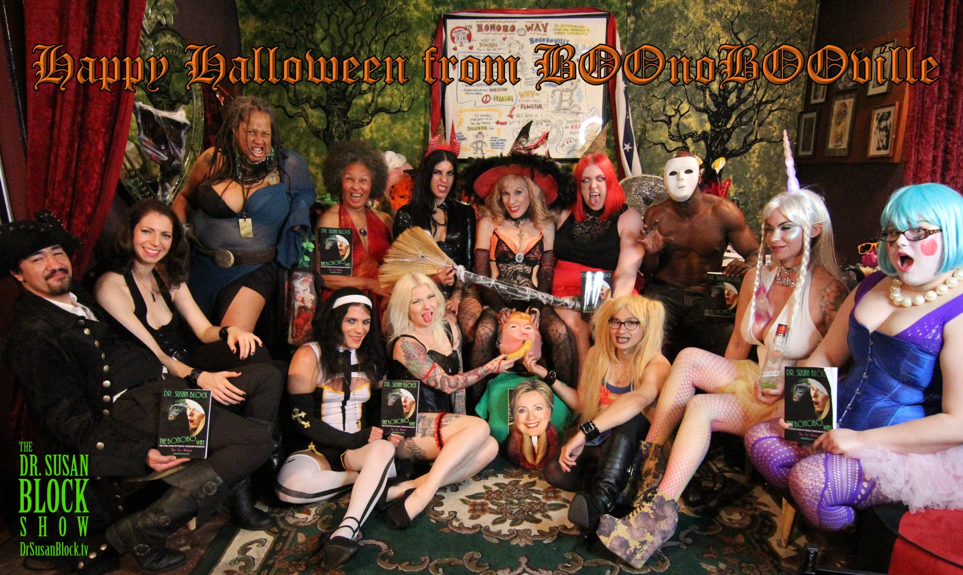 Magical Para-Pervy HALLOWEEN 2016 & Kink Month ClimaxXx in BOOnoBOOville!