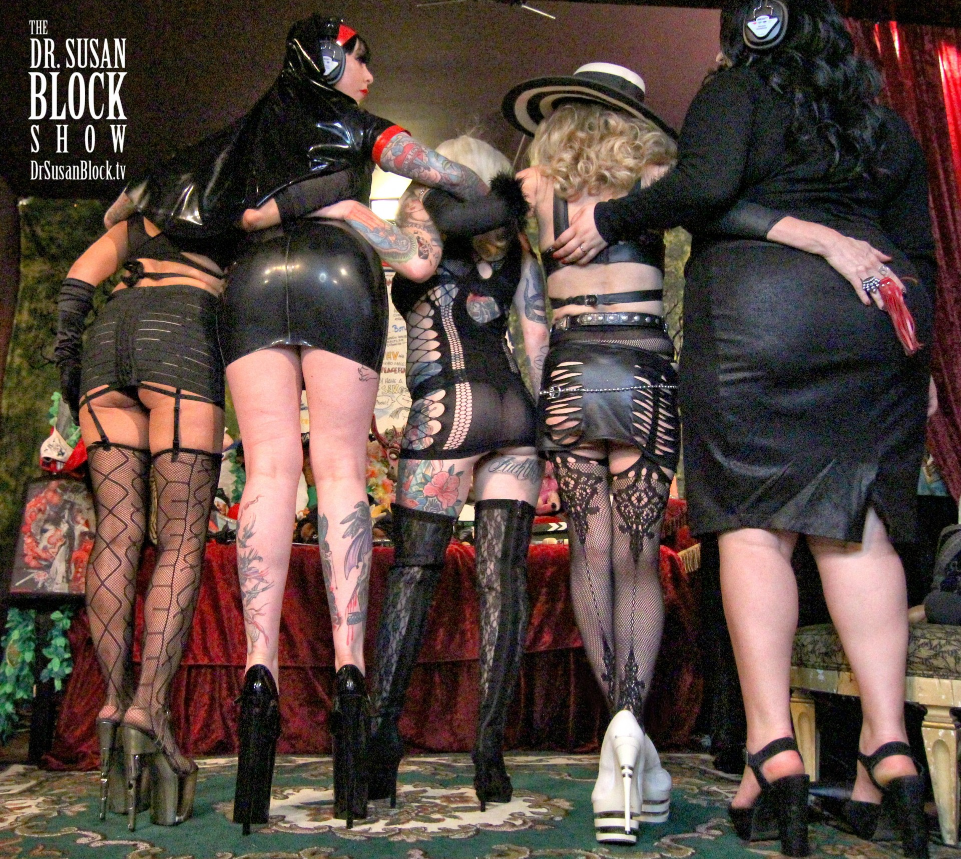 Kink Month 4 on DrSuzy.Tv: Nasty Women & Bad Hombres of Bonoboville Infantilize Trumpty Dumpty + Religious Roleplay, Hot Wax & More Spankings!