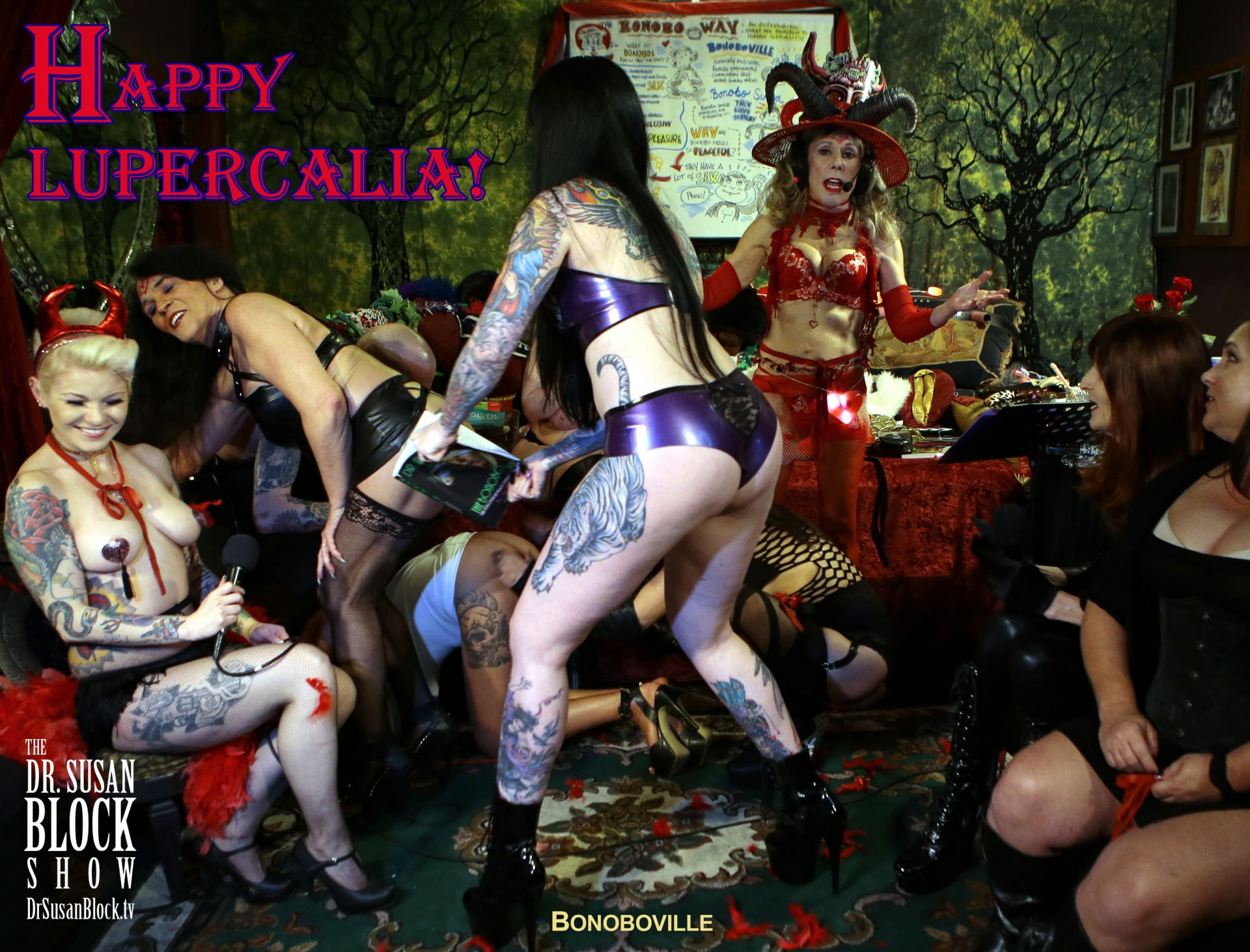 A Very Happy Whip-Snappy Lupercalia 2017